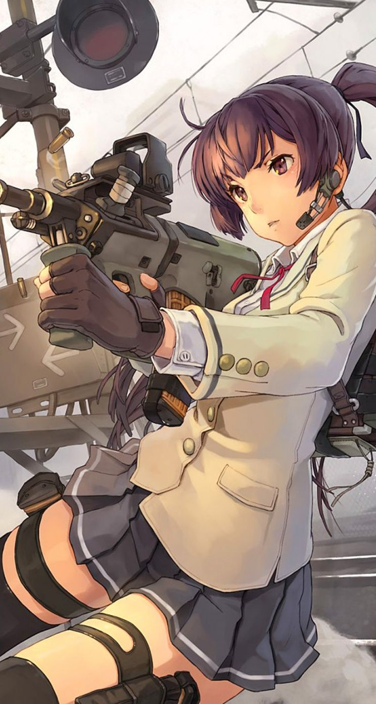 Shooter Cool Anime Gun Girls Iphone Wallpapers Mobile9 Iphone