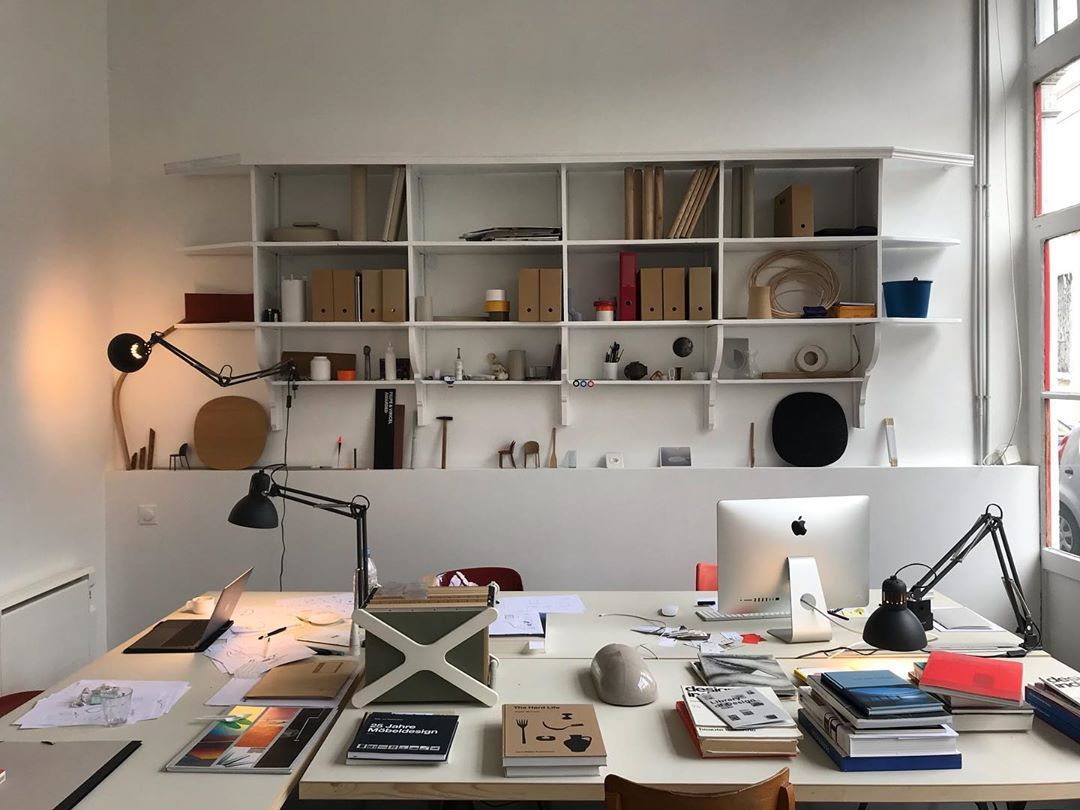 "Filipe & Viricel on Instagram: ""Our new and nice studio !  #design #designstudio #office #productdesign #filipeviricel"""