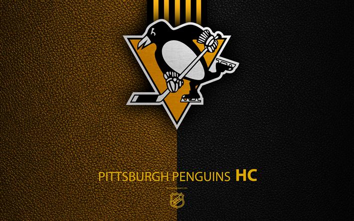 Download wallpapers Pittsburgh Penguins, HC, 4K, hockey ...