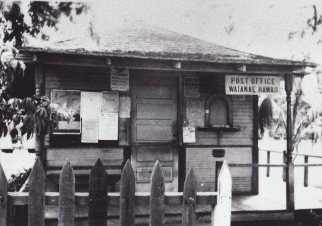 Waianae Post Office 1926 Hawaiian History Oahu Hi Vintage Hawaii