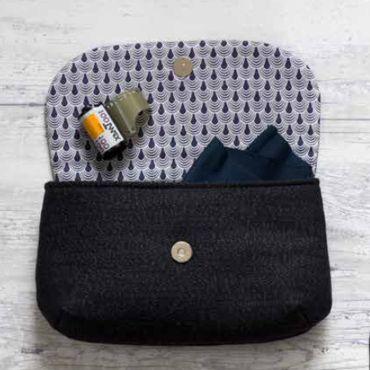 pochette juliette tuto gratuit couture trousses pochettes pinterest bags nice and molde. Black Bedroom Furniture Sets. Home Design Ideas