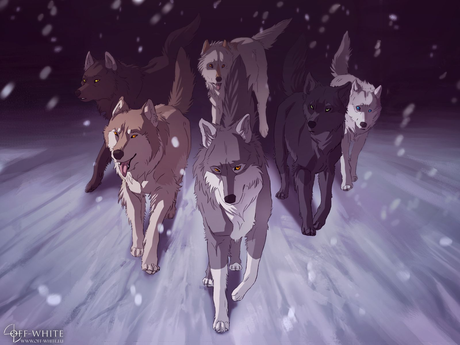 Freebies Off White Anime Wolf Drawing Anime Wolf Wolf Artwork