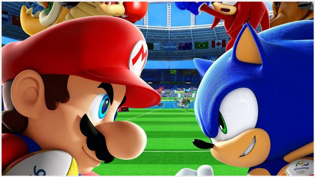 Mario And Sonic Games Wallpaper Mario And Sonic At The London 2012