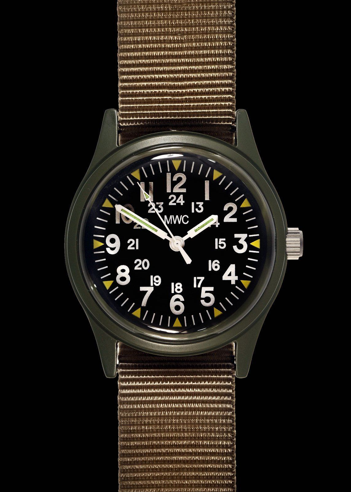 Mwc Classic S 70s Pattern Olive Vietnam Watch On