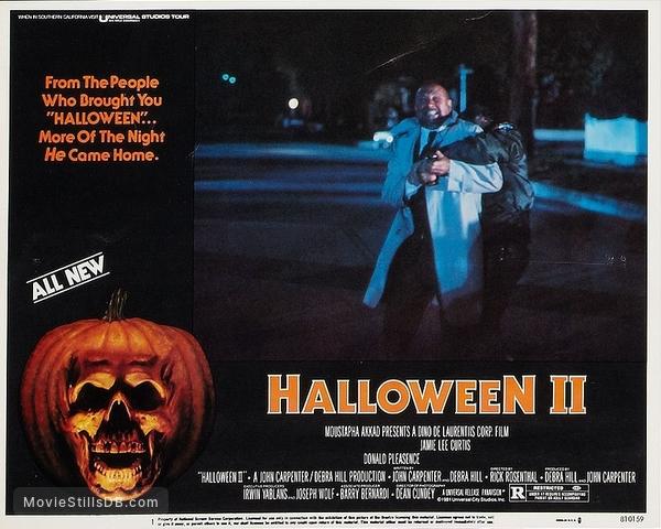 Halloween II 1981 in 2020 Halloween ii, Halloween film