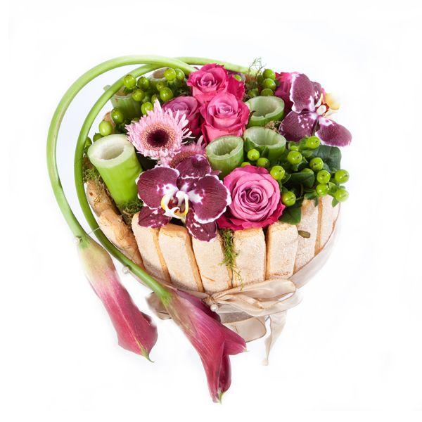 Afficher l 39 image d 39 origine compos et bouquets - Composition florale anniversaire ...