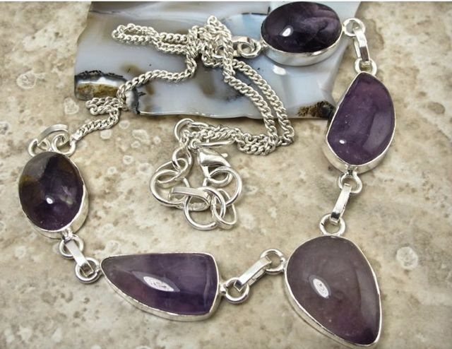 'Lovely Amethyst Necklace ' SOLD!