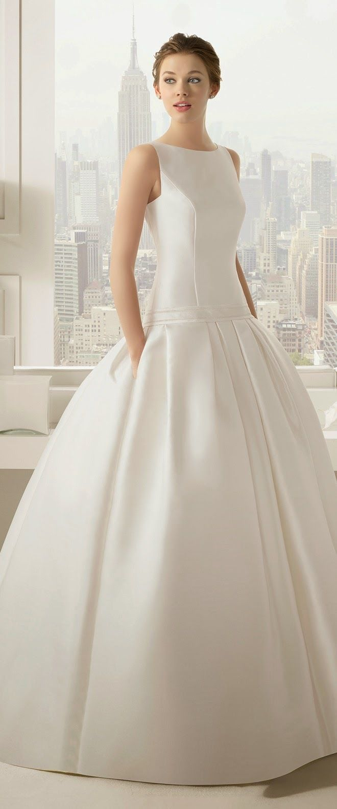 Perfect wedding dresses rosa clara vera wang bridal