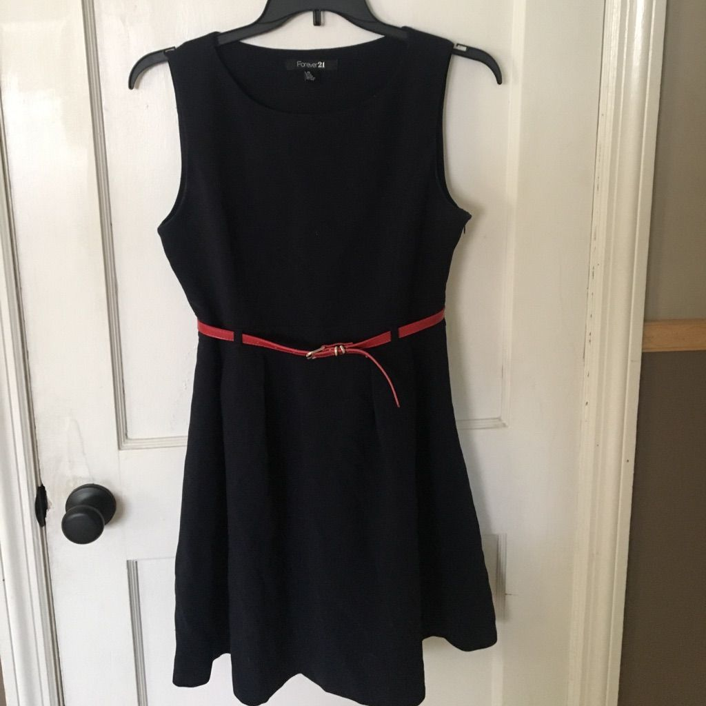 Dress red belt and products