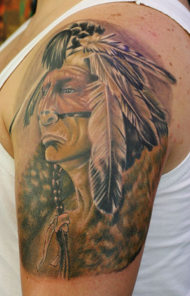Apache Warrior Tattoo Google Search Indian Tattoo Indian Tattoo Design Tattoos
