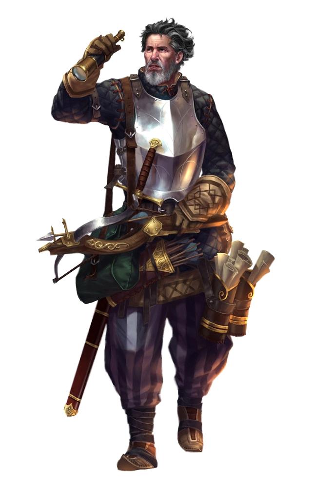 Fantasy Art Archaeologist