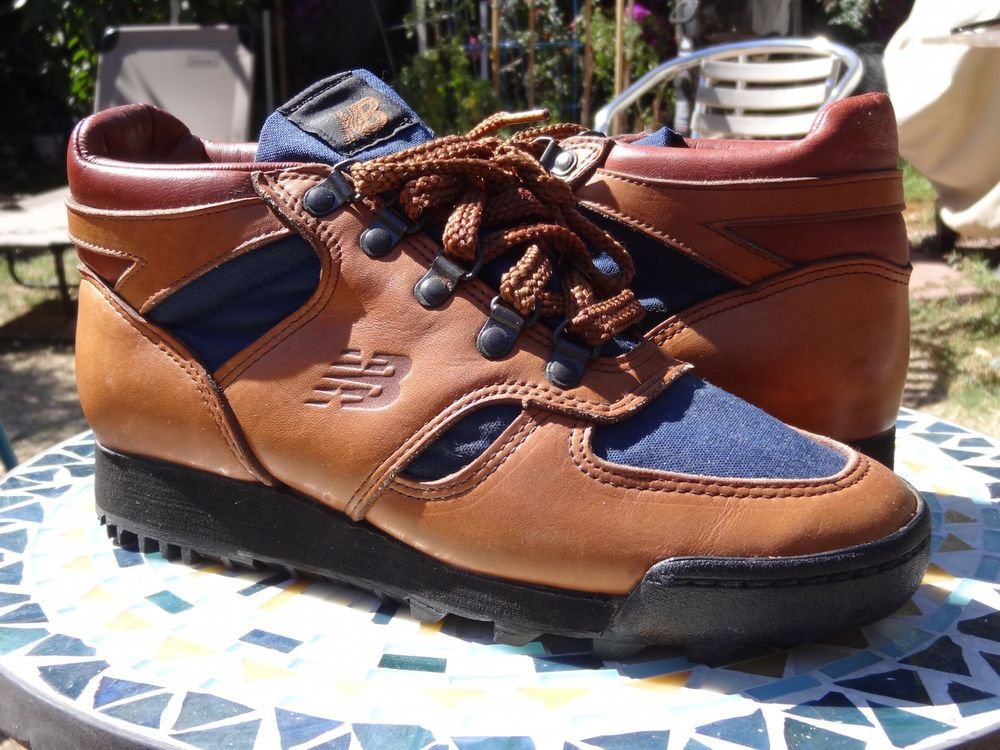 b11f424bb602e New Balance 710 sz 8 VINTAGE 80 s ORIGINAL BROWN BLUE HIKING BOOTS   NewBalance  HikingTrail. Find this Pin and more on Sneaker Wave ...