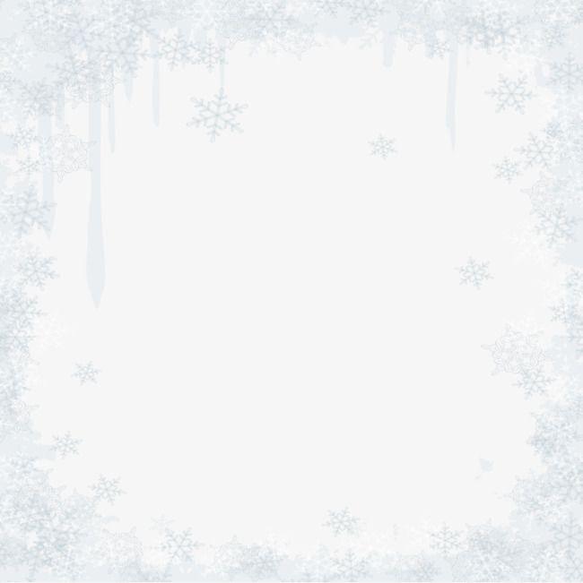 Moldura Branca Neve Bela Os Flocos De Neve Branco Moldura Png E Vetor Para Download Gratuito Molduras Brancas Flocos De Neve Molduras