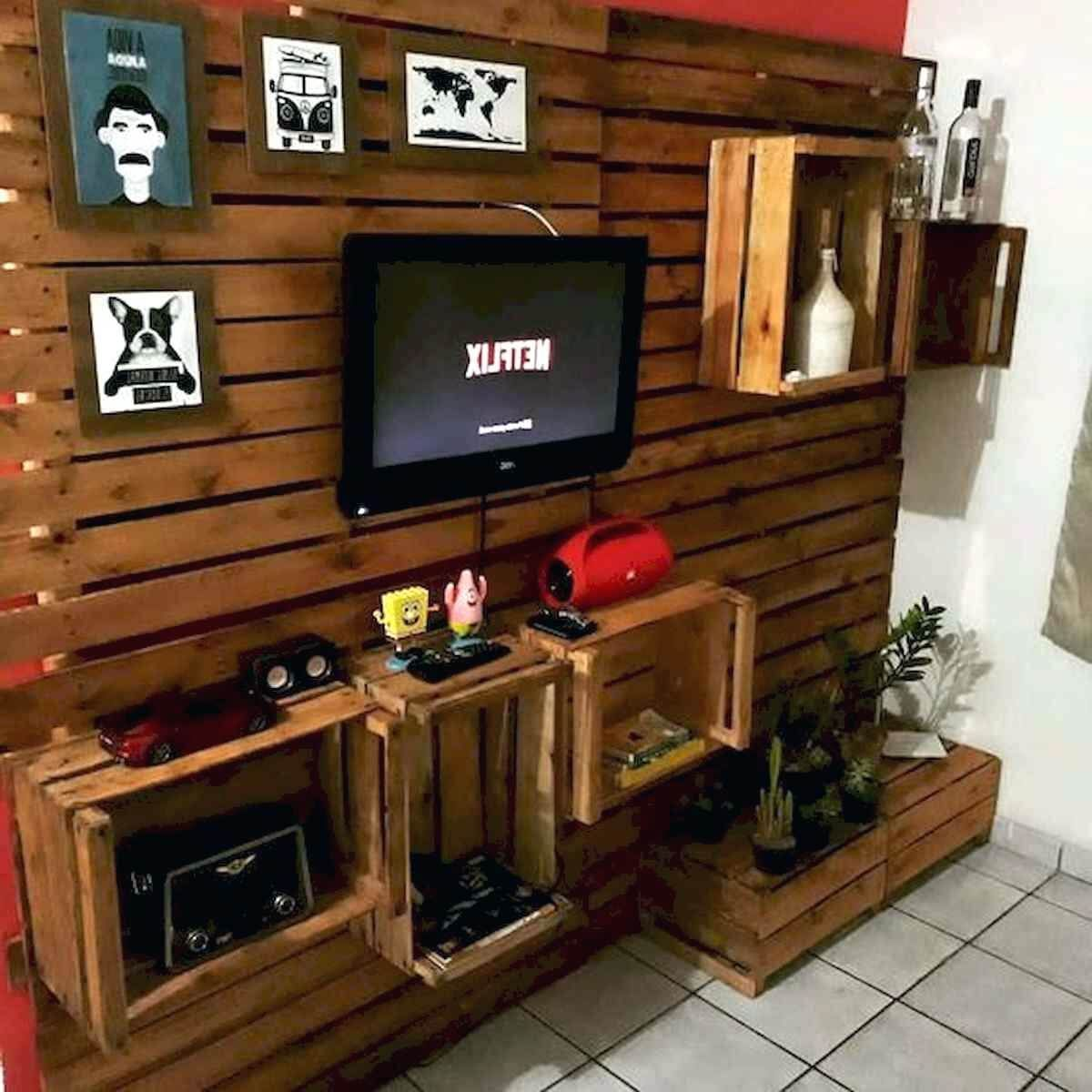 45 Super Coole Diy Projekte Paletten Tv Stander Plane Design Ideen In 2020 Tv Stand Plans Cool Diy Projects Pallet Tv Stand