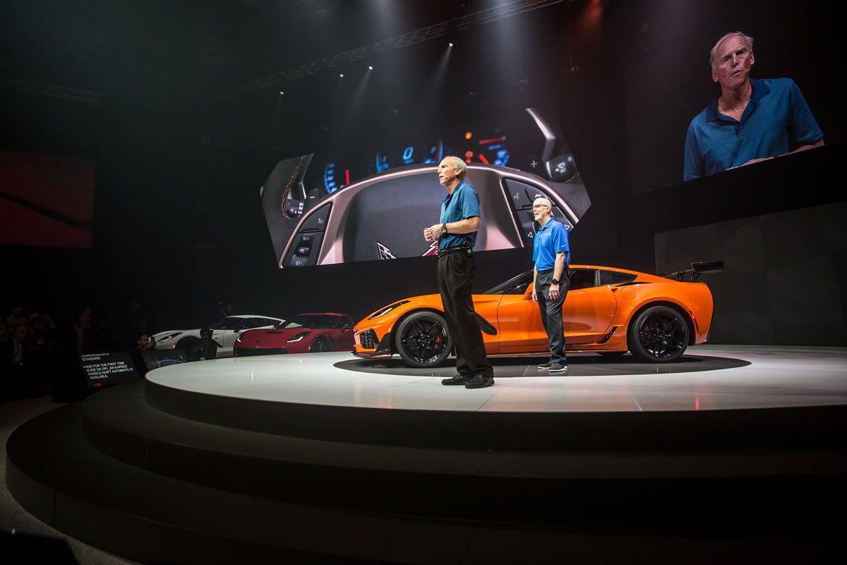 Charmant 2019 Corvette ZR1 In Dubai