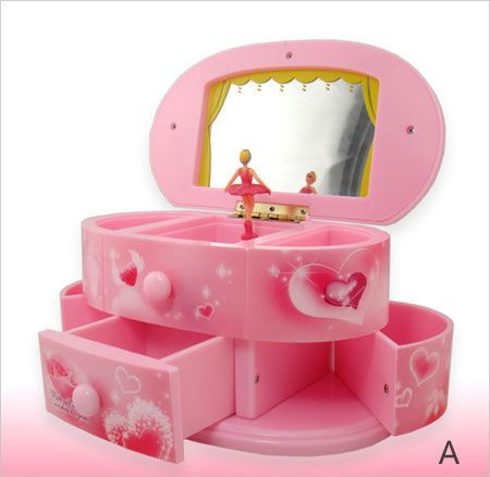 Personalized Ballerina Musical Jewelry Box for Girls Egifts2ucom