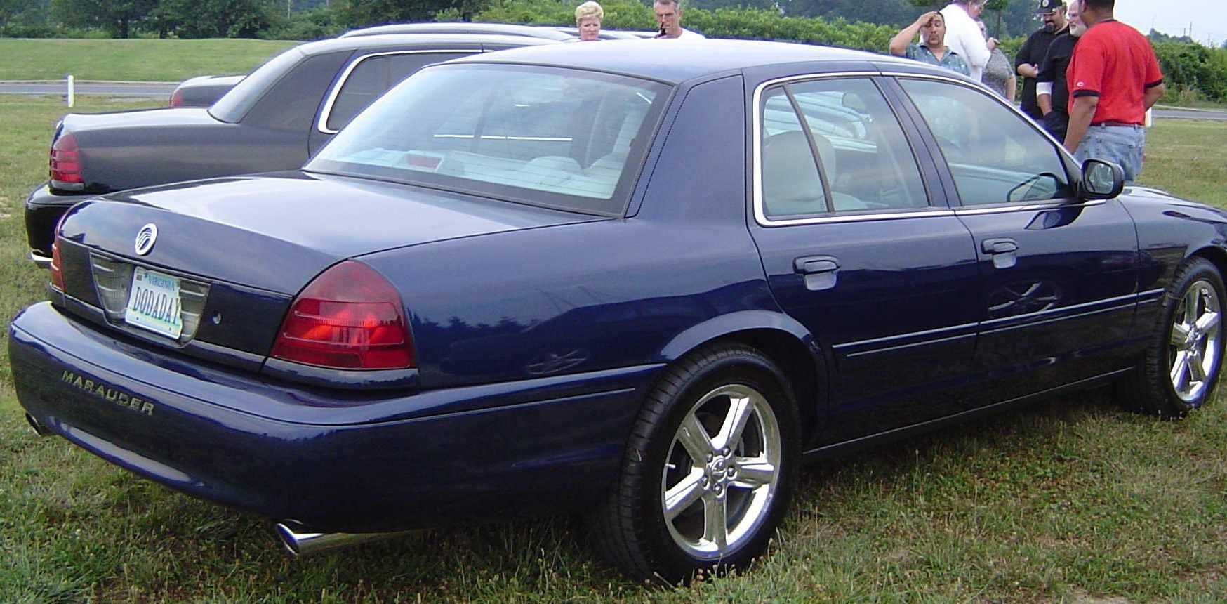 Mercury marauder in blue