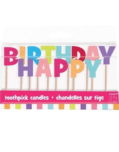 Happy Birthday Candles Party City