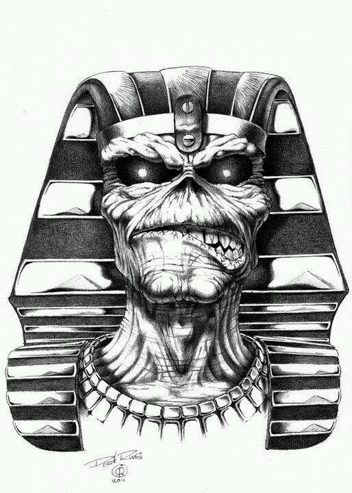 Pin De Gabriel En Iron Maidens Eddie Art Tatuajes De Rock Imagenes De Rock Metal Iron Maiden