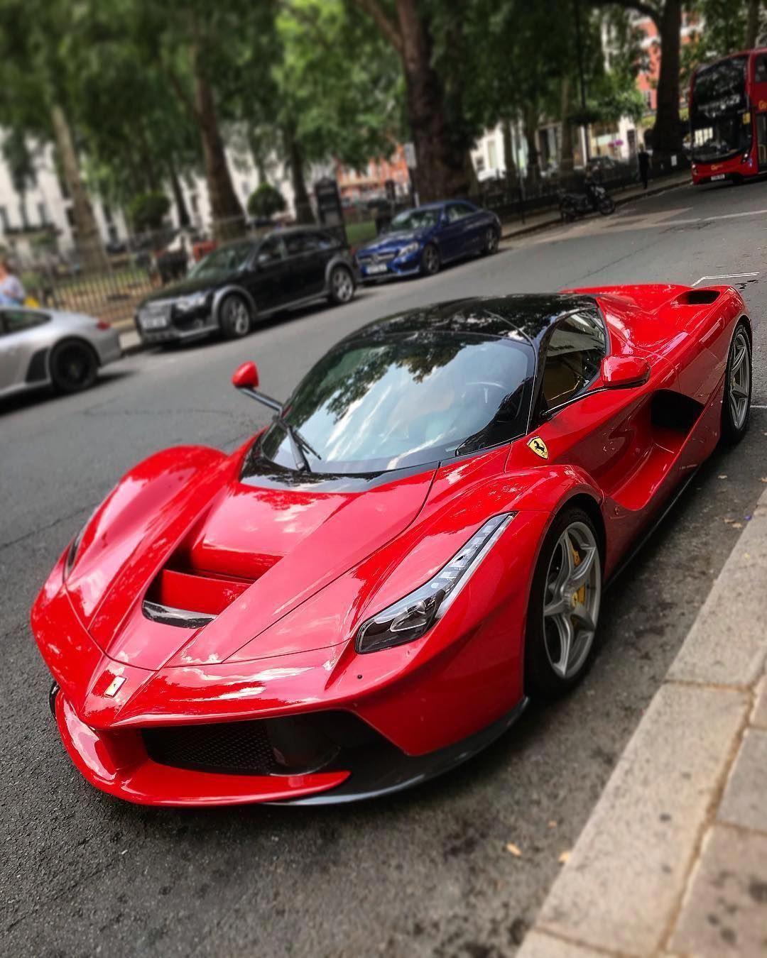 Ferrari Supercar: La Ferrari #laferrari #ferrari #red #supercar #hypercar