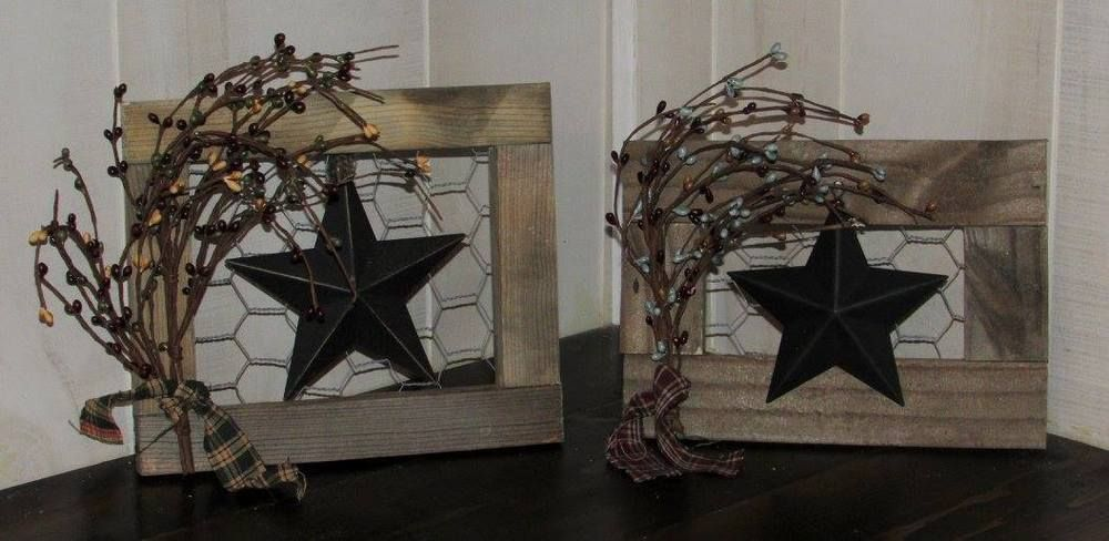Tin Star Wall Hanging | Ebay Pins | Pinterest | Tin star, Tins and Stars