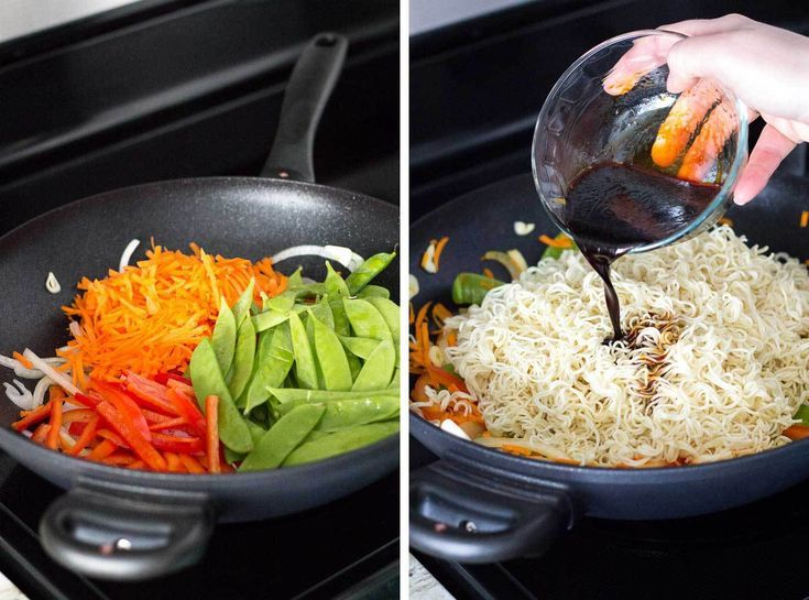 Vegetable Lo Mein for Two images