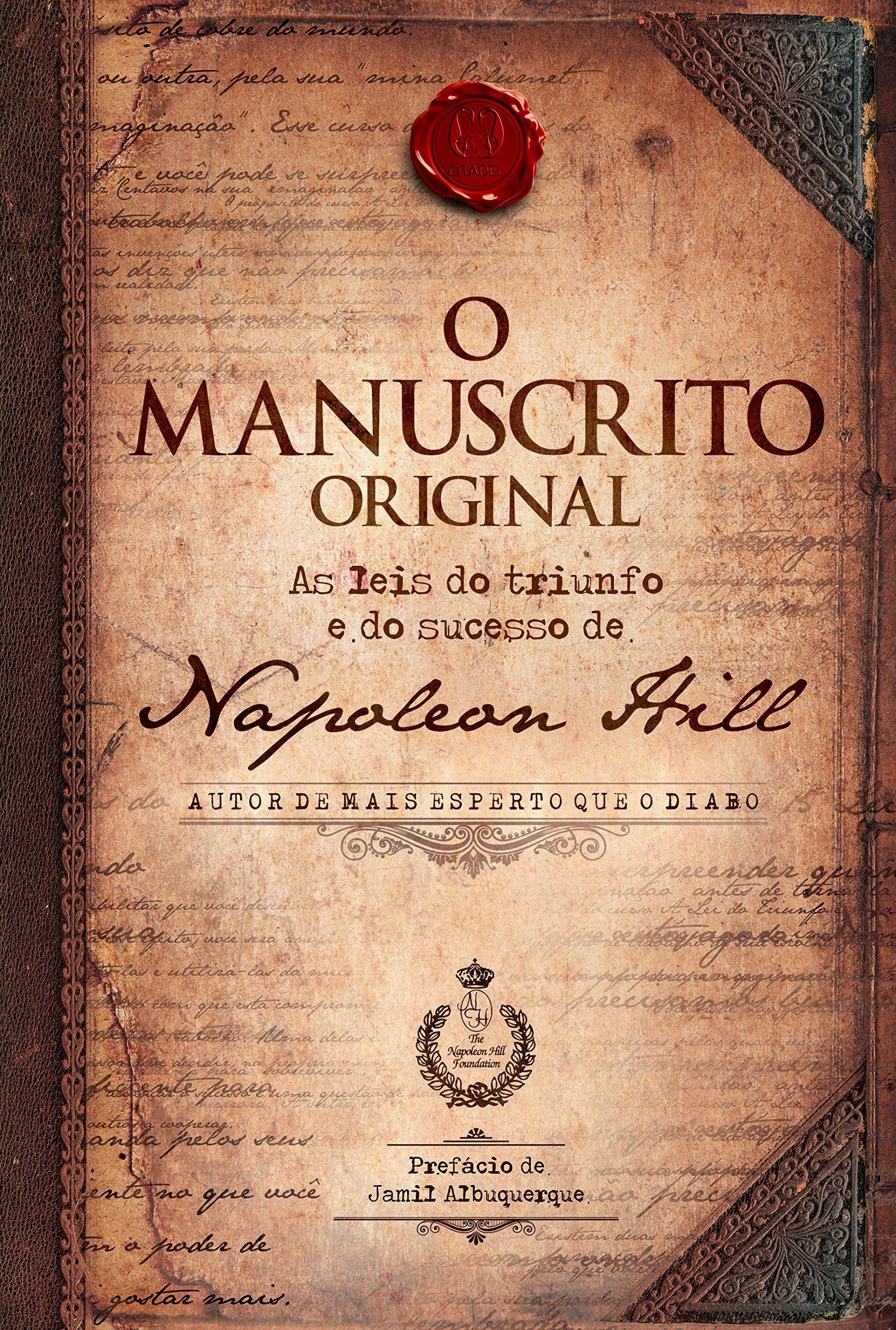 O Manuscrito Original As 16 Leis Originais Do Triunfo E Do