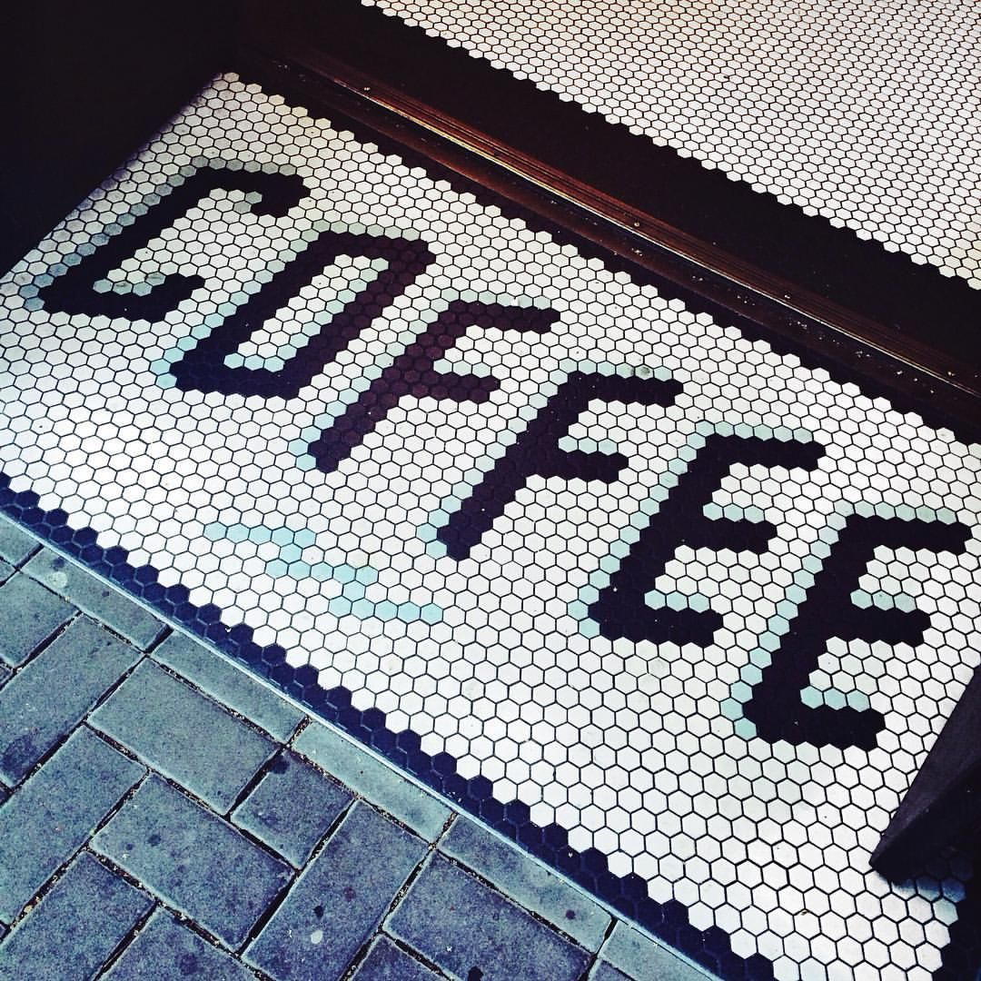 sightglass coffee shop entrance. Amazing tiles idea | TILE ...