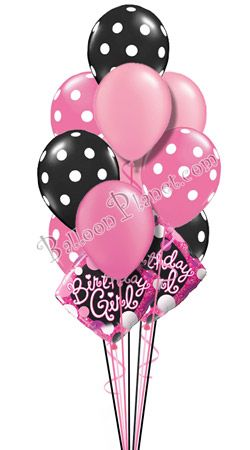Sweet Sixteen Birthday Balloon Bouquet 16 Balloons Hand Delivered By Balloonplanet Happy
