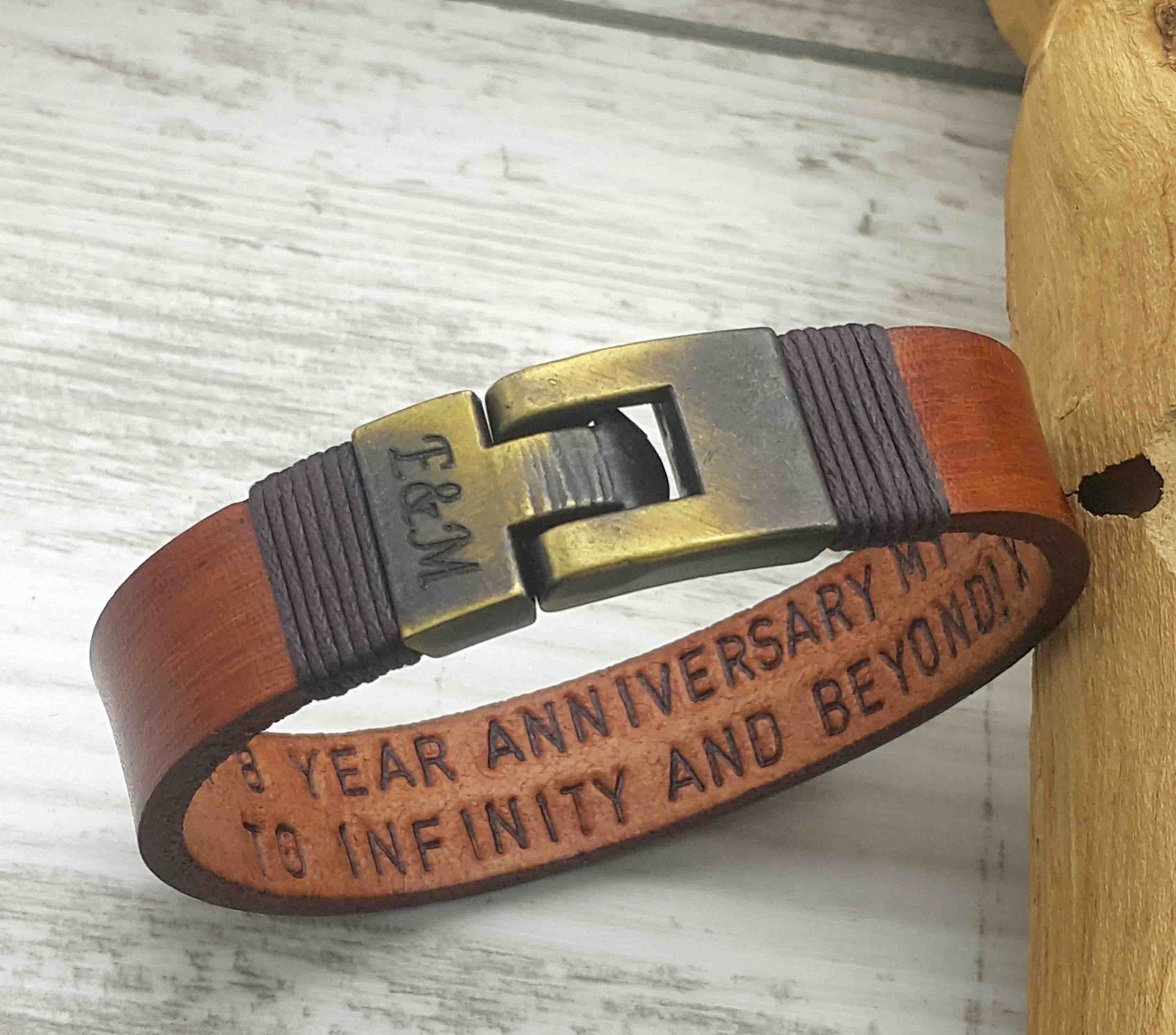 Personalized Gifts For Him, Hidden Message, Hand Stamped ...