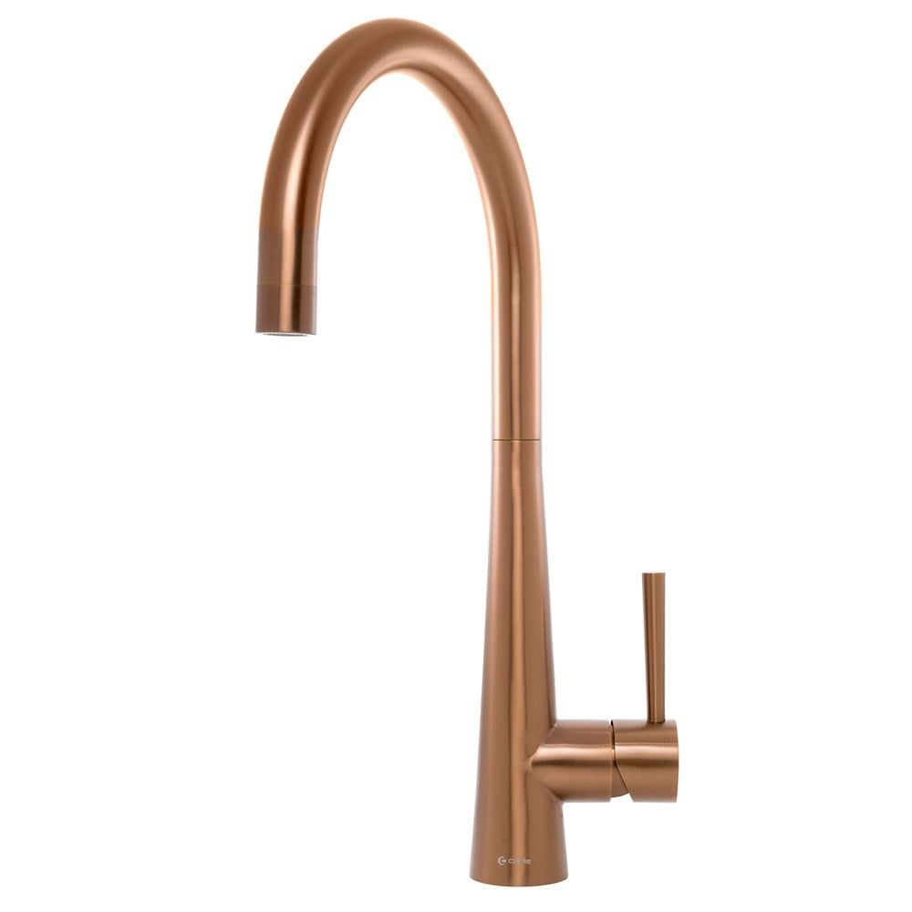 Caple Ridley Single Lever Copper Kitchen Sink Tap Caple From Taps Uk Copperkitchensinktap Kitchen Sink Taps Copper Kitchen Sink Taps