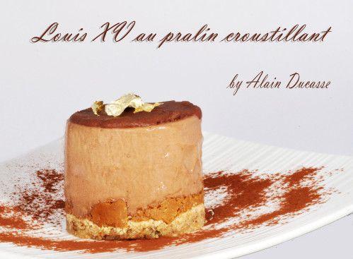 Gateau Au Chocolat Dacquoise Et Croustillant Praline D Alain Ducasse Et Si C Etait Bon Gateau Chocolat Gateau Gateaux Et Desserts