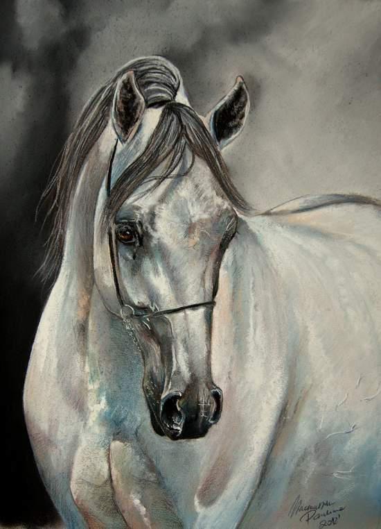 Wolves art Wolves-art Werewolves Horse paintings Pastel paintings Animal sculptu…