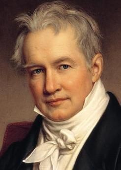 September 14, 1769 - Alexander von Humboldt who laid the foundation for the field of biogeography is born in Berlin