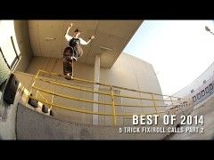 Best of 2014: 5 Trick Fix and Roll Calls Part 2 - http://DAILYSKATETUBE.COM/best-of-2014-5-trick-fix-and-roll-calls-part-2/ - http://www.youtube.com/watch?v=0LUHq9lSsDk&feature=youtube_gdata  This is just a heavy montage: From Chris Cole and Nyjah to Jamie Palmore and Cody Lockwood, all the bases are covered. - 2014, best, Calls, part, roll, trick