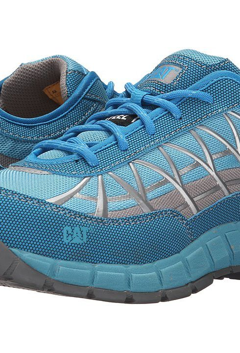 Caterpillar Connexion Steel Toe (Blue 1) Women's Industrial Shoes -  Caterpillar, Connexion Steel