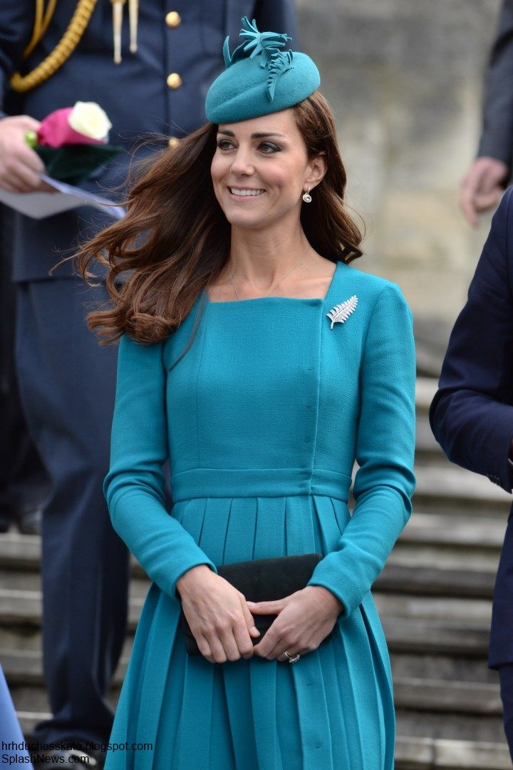 Duchess Kate: Kate in (a very familiar) Emilia Wickstead Piece For Dunedin Visit + A Casual Look for Rippa Rugby!