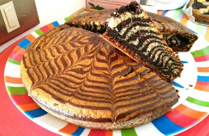 Torta zebrata https://laricettamigliore.wordpress.com/2015/01/18/torta-zebrata/