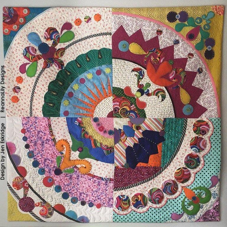 San Antonio Quilt Guild Challenge Quilt 2019 Entry By Jen Eskridge Quilts Quilt Guild Small Quilts