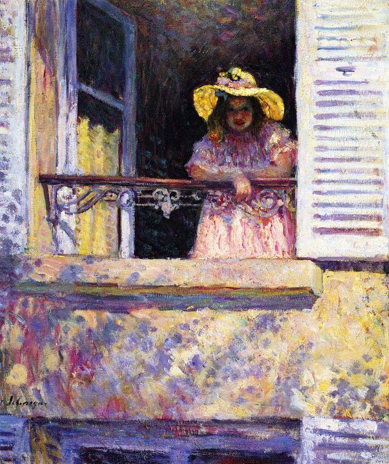henri lebasque(1865-1937), fillette à la fenêtre, 1904. oil on canvas, 55 x 47.6 cm. private collection http://www.the-athenaeum.org/art/detail.php?ID=40853