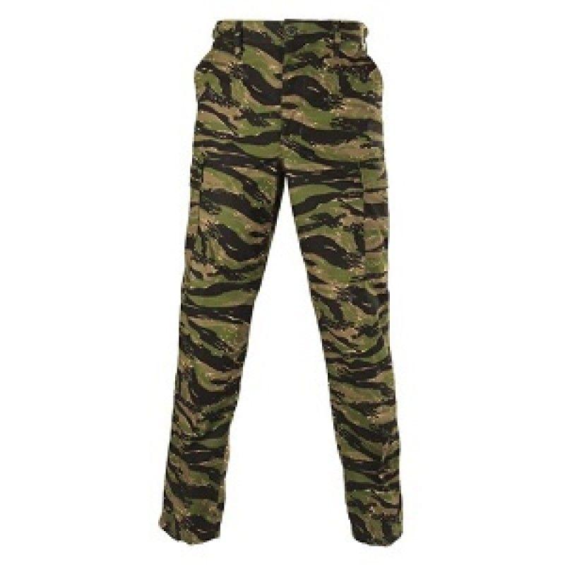 3b69d20a521f4 Vietnam Tiger Stripe 100% Cotton Ripstop BDU Pants | Military ...