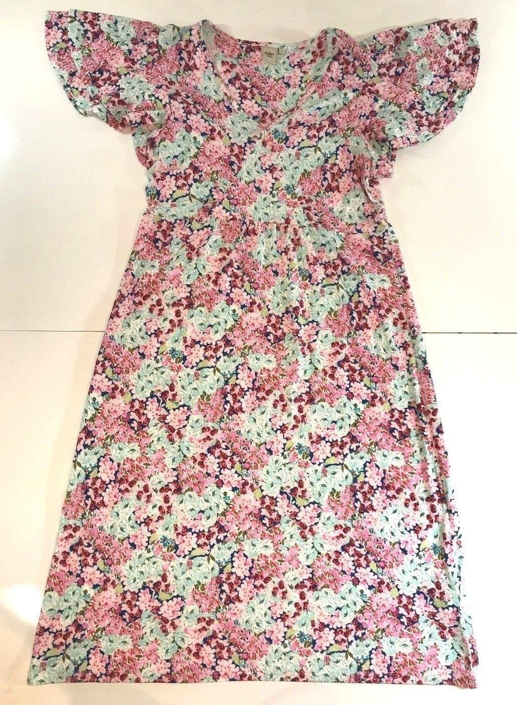 Ladies Cotton Traders Colourful Vintage Styled Floral Summer Dress Uk Size 12 Summer Dresses Dresses Floral Dress Summer [ 1406 x 1032 Pixel ]