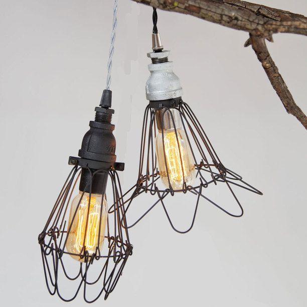 Clink Pendant lighting, steel, pendant
