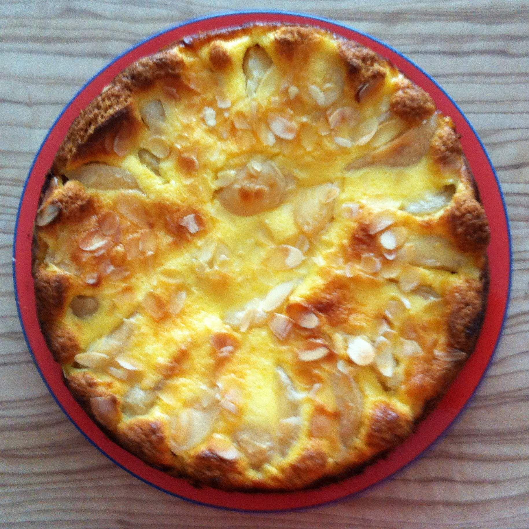 Birnen-Rahm-Kuchen