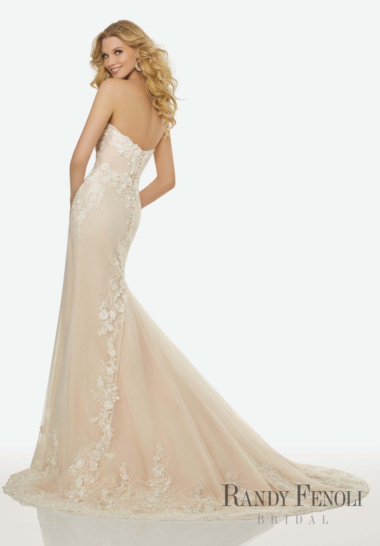 Randy Fenoli Bridal, Elizabeth Wedding Dress | Style 3401. Crystal ...