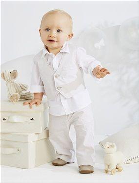 dfc615663b8e8 Vêtement de cérémonie et tenue de baptême enfant - 2 ans. Ensemble de cérémonie  3 pièces garçon