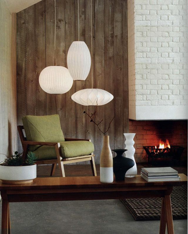 George nelson lighting george nelson bubble saucer pendant lamp george nelson lighting george nelson lamp interior living room mid centruy modern aloadofball Images
