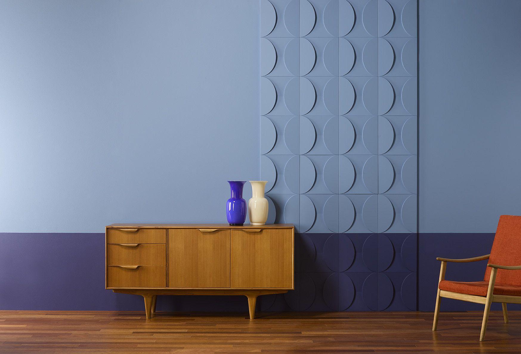 Wanddecoratie Voor Een Retro Look Muur Lambrisering Muur Panelen Gebogen Wanden