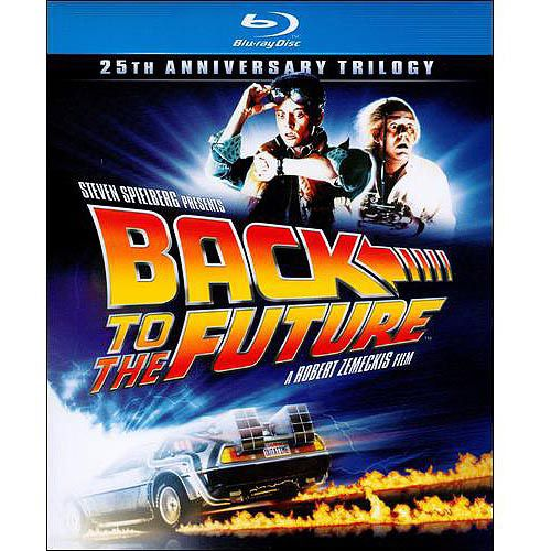 """Back To The Future"" (1985/1989/1990) 25th Anniversary Trilogy Blu-ray"