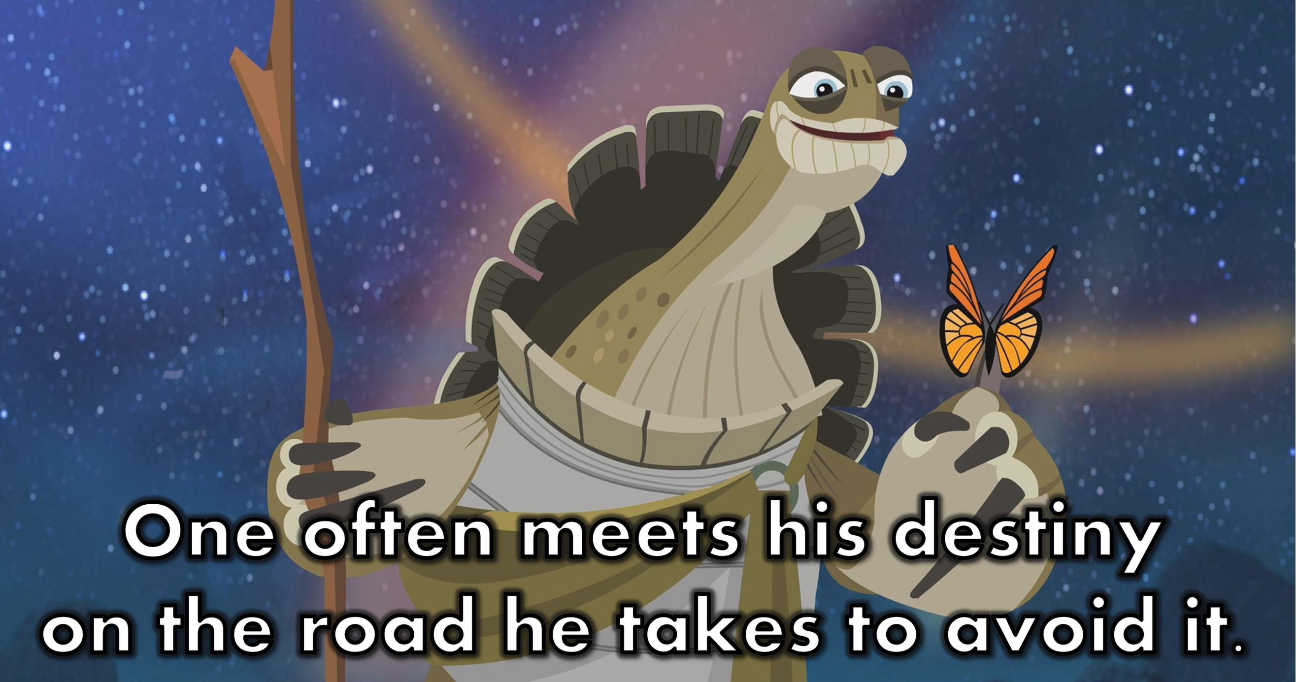 Master Oogway   Master oogway, Animation quotes, Master shifu